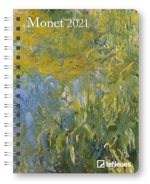 Monet 2021Diary - Buchkalender - Taschenkalender -