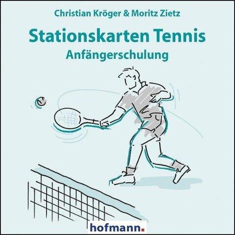 Stationskarten Tennis - Christian Kröger, Moritz Zietz
