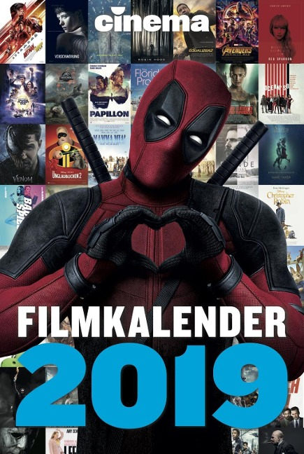 CINEMA Filmkalender 2019 -