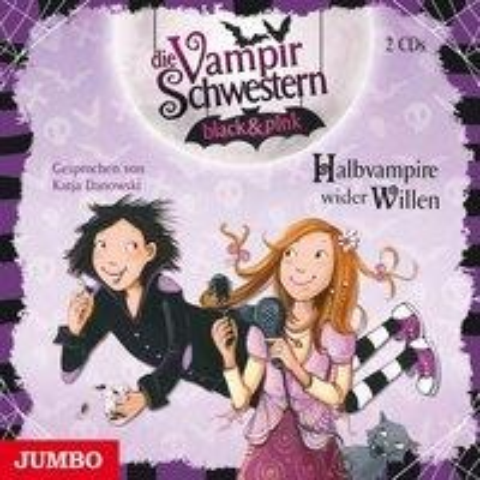 Die Vampirschwestern black & pink. Halbvampire wider Willen - Nadja Fendrich