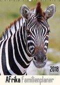 Afrika Familienplaner (Wandkalender 2018 DIN A2 hoch) - Wibke Woyke