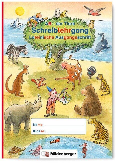 ABC der Tiere - Schreiblehrgang LA in Sammelmappe. Neubearbeitung. Klassenstufe 1. Schuljahr bis 2. Schuljahr - Kerstin Mrowka-Nienstedt