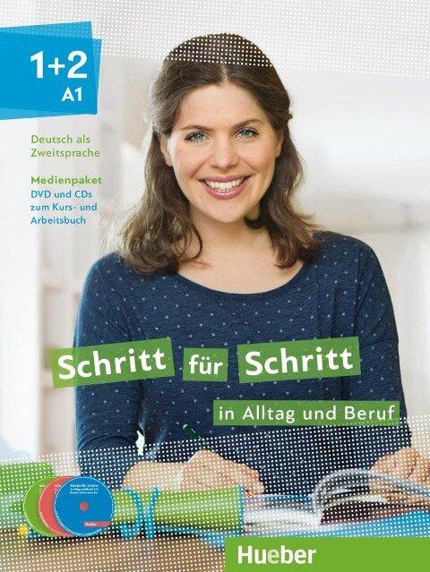 Schritt für Schritt in Alltag und Beruf 1+2/ Medienpaket - Daniela Niebisch, Sylvette Penning-Hiemstra, Franz Specht, Dörte Weers