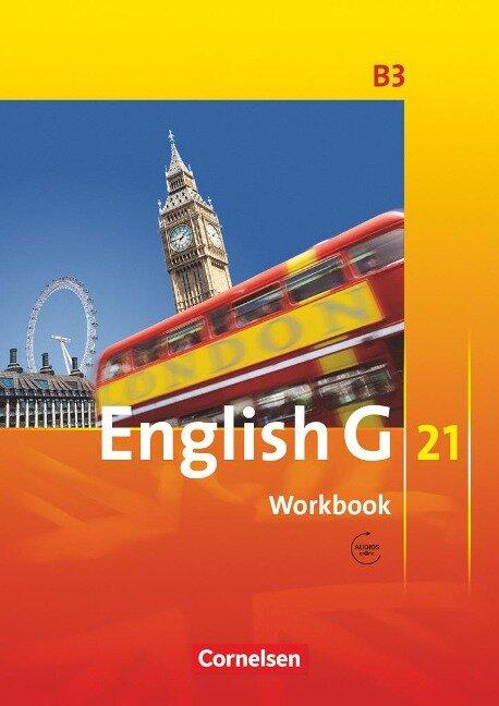 English G 21. Ausgabe B 3. Workbook mit Audios Online - Jennifer Seidl