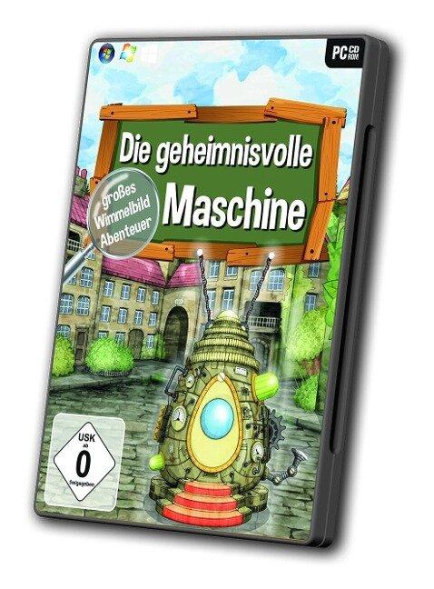 Wimmelbild - Die geheimnisvolle Maschine -