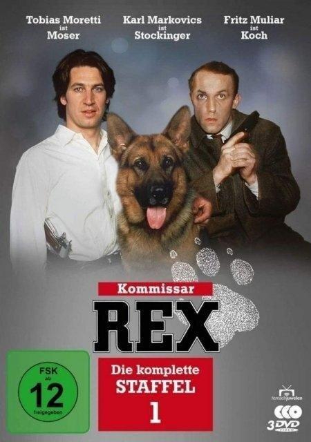 Kommissar Rex - Die komplette 1. Staffel. 3 DVDs -