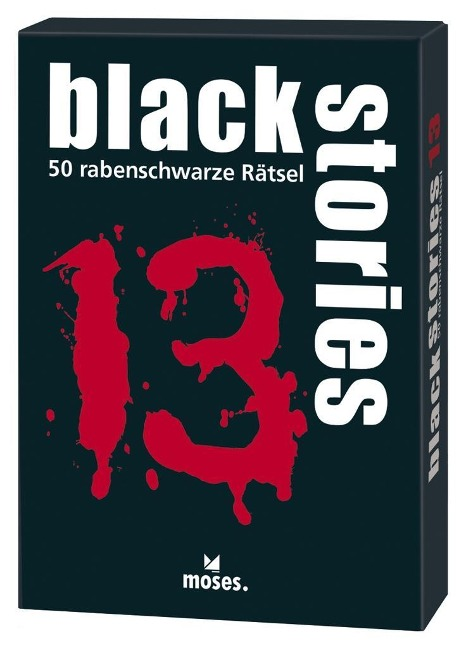 black stories 13 - Holger Bösch
