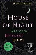 »House of Night« Paket 4 (Band 10-12) - P. C. Cast, Kristin Cast