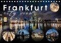 Frankfurt city view (Tischkalender 2019 DIN A5 quer) - Monika Schöb