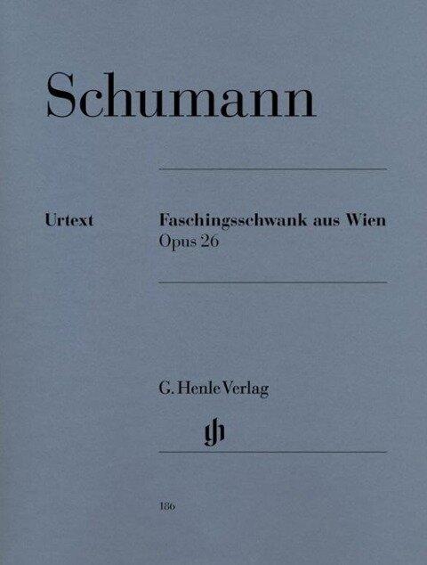 Faschingsschwank aus Wien op. 26 - Robert Schumann