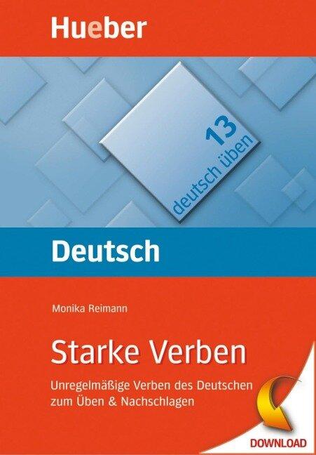 Starke Verben - Monika Reimann