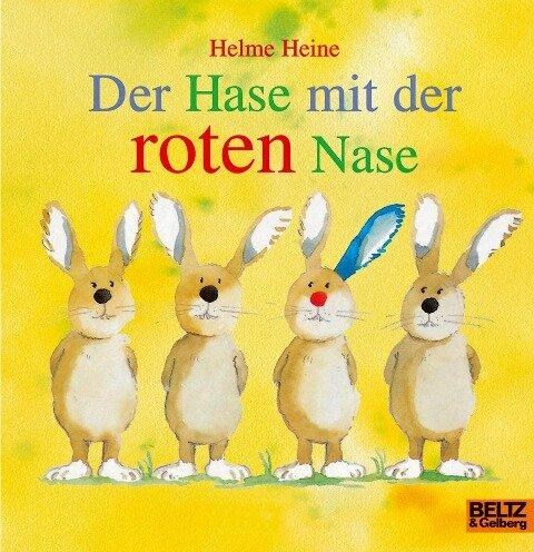 Der Hase mit der roten Nase - Helme Heine