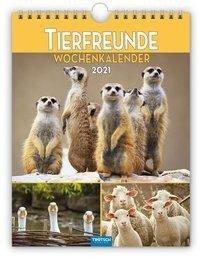 """Wochenkalender """"Tierfreunde"""" 2021 -"""