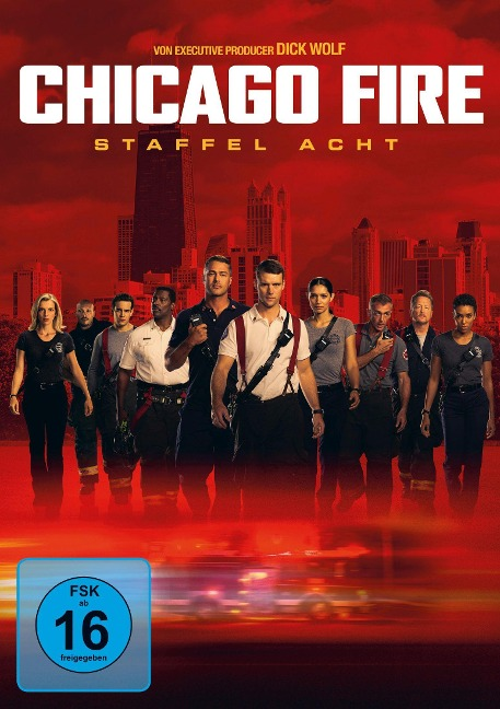 Chicago Fire - Staffel 8 -