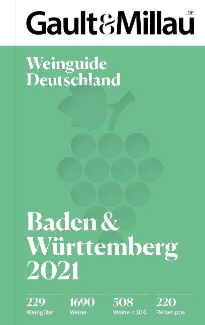 Gault&Millau Deutschland Weinguide Baden & Württemberg 2021 -