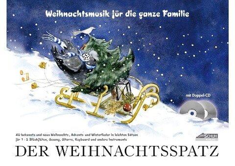Der Weihnachtsspatz - Karin Schuh, Iso Richter