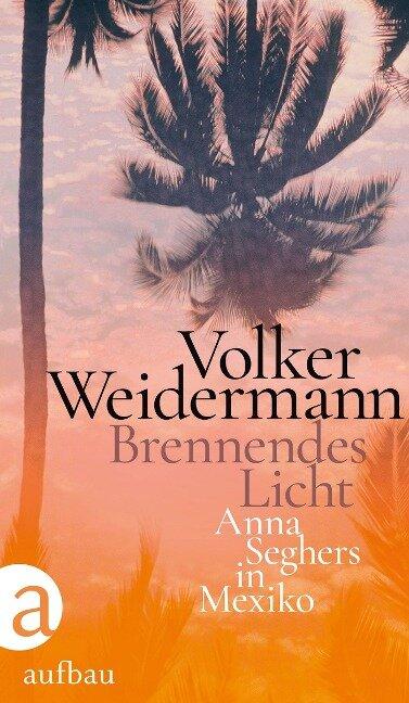 Brennendes Licht - Volker Weidermann