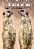 Erdmännchen - Afrikas liebenswerte Zwerge (Wandkalender 2018 DIN A2 hoch) - Elisabeth Stanzer