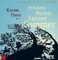 Fräulein Nettes kurzer Sommer. 2 MP3's - Karen Duve