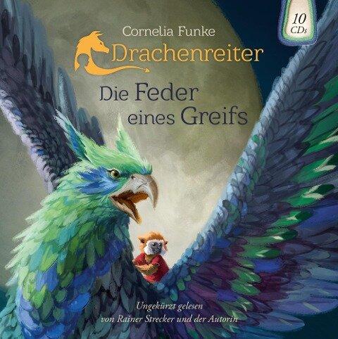 Drachenreiter 2. Die Feder eines Greifs - Cornelia Funke, Wahnsinn German