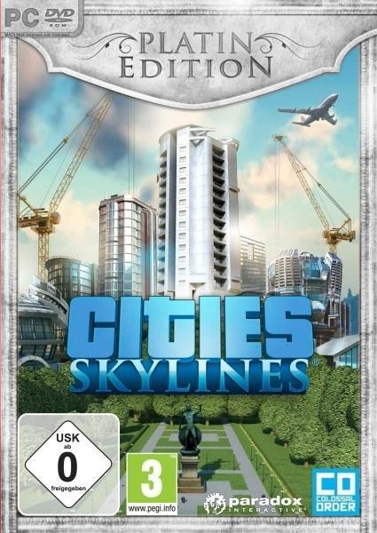 Cities: Skylines Platin Edition. Für Windows Vista/7/8/10/MAC/Linux (64-Bit) -