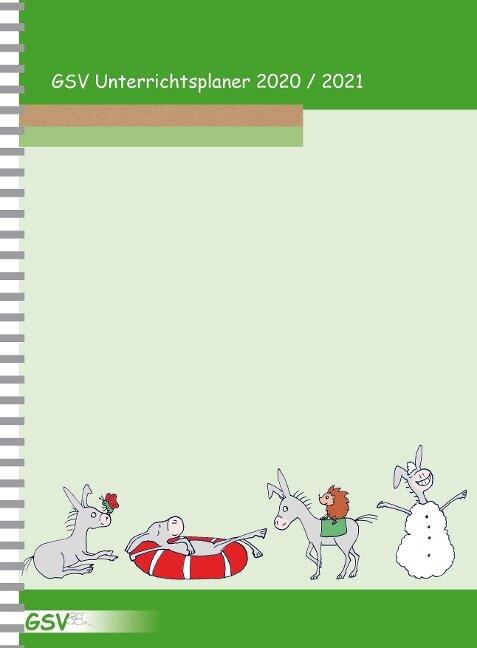 GSV Unterrichtsplaner Lehrerkalender für Grundschullehrer (DIN A4) 2020/21, Wire-O-Ringbindung -