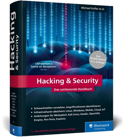 Hacking & Security - Michael Kofler, André Zingsheim, Klaus Gebeshuber, Stefan Kania, Markus Widl