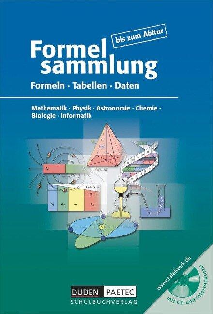Formelsammlung bis zum Abitur -