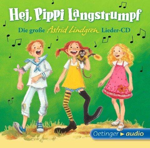 Hej, Pippi Langstrumpf! (1 CD) - Astrid Lindgren, Dieter Faber, Frank Oberpichler