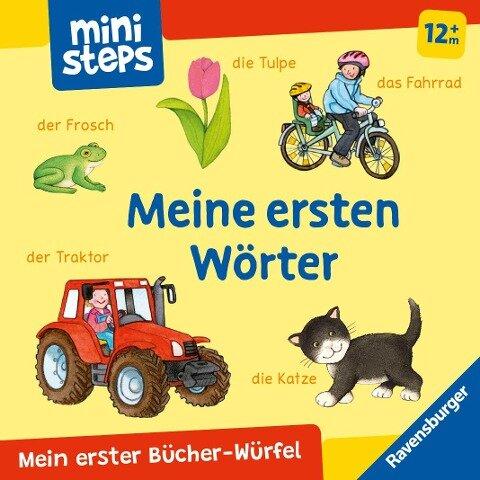 Mein erster Bücher-Würfel: Meine ersten Wörter (Bücher-Set) - Ina Milk
