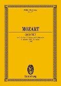 Streichquintett c-Moll - Wolfgang Amadeus Mozart