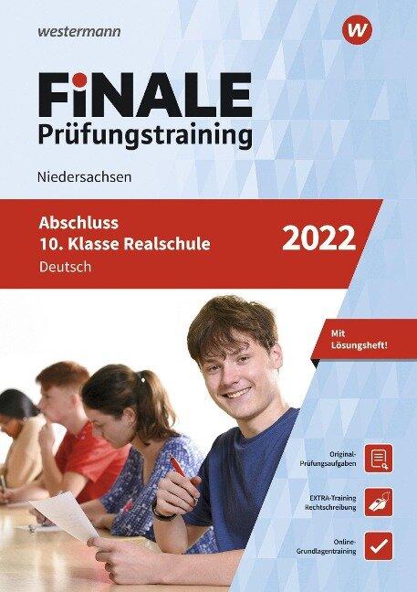FiNALE Prüfungstraining Abschluss 10. Klasse Realschule Niedersachsen. Deutsch 2022 - Martina Hartwig, Melanie Priesnitz
