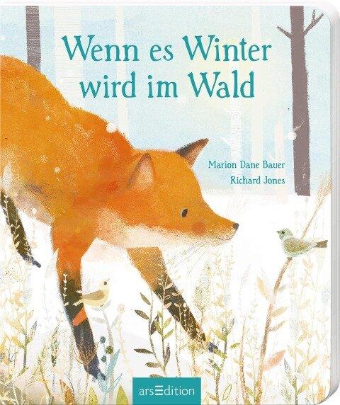 Wenn es Winter wird im Wald