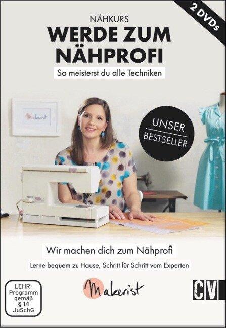 """Makerist DVD """"Nähprofi"""" -"""