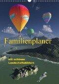 Familienplaner mit schönen Landschaftsbildern (Wandkalender 2017 DIN A3 hoch) - Klaus-Dieter Schulze