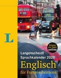 Langenscheidt Sprachkalender 2020 Englisch für Fortgeschrittene -