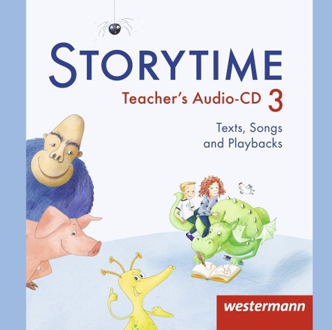 Storytime 3. Audio-CD -