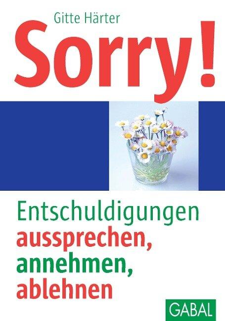 Sorry! - Gitte Härter