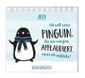 Mini-Kalender 2019 Ich will einen Pinguin -