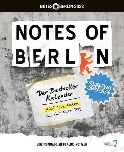 Notes of Berlin 2022 -