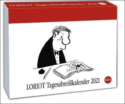 Loriot Tagesabreißkalender 2021 -