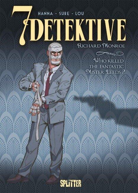 7 Detektive: Richard Monroe - Who killed the fantastic Mister Leeds? - Herik Hanna