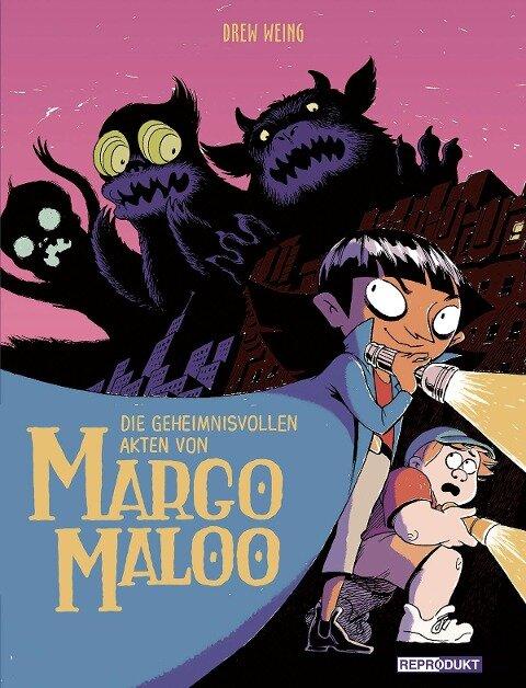 Die geheimnisvollen Akten von Margo Maloo - Drew Weing