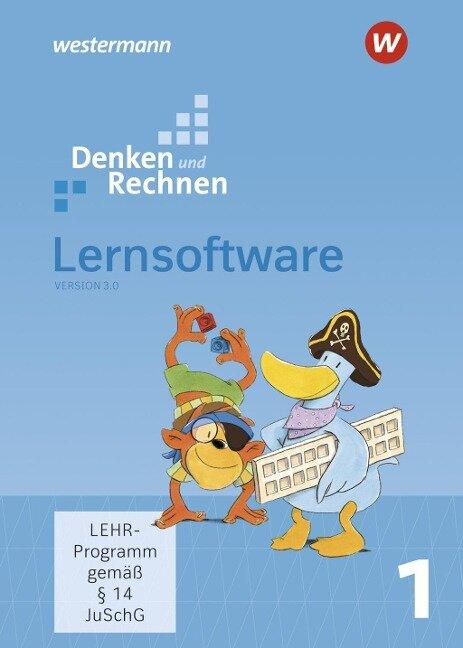 Denken und Rechnen 1. Lernsoftware CD-ROM -