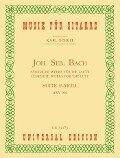 Suite E-Moll BWV 996 - Johann Sebastian Bach