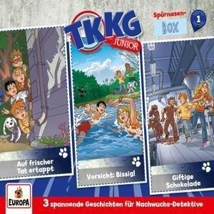 TKKG Junior 3er Box 01 Folgen 1-3 (3 Audio-CD's) -