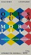 Opuscula moralia - Giacomo Leopardi