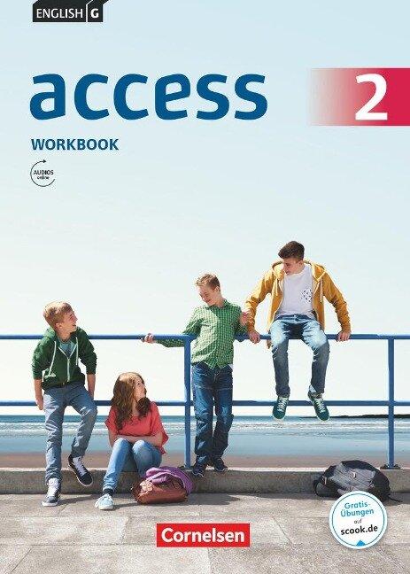 English G Access 6. Schuljahr. Allgemeine Ausgabe. Workbook mit Audios online - Jennifer Seidl