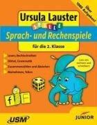 Sprach- und Rechenspiele für die 2. Klasse. CD-ROM für Windows, Mac - Ursula Lauster