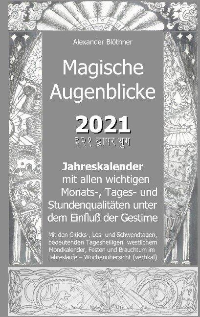 Magische Augenblicke - Mein Ringbuch - Alexander Blöthner